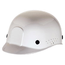 Radnor Hardhat White Polyethylene Bump Cap Adjustable 64051040
