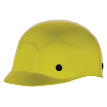 Radnor Hardhat Yellow Polyethylene Bump Cap Adjustable 64051041