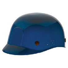 Radnor Hardhat Blue Polyethylene Bump Cap Adjustable 64051042