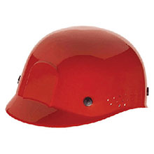 Radnor Hardhat Red Polyethylene Bump Cap Adjustable 64051044