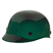 Radnor Hardhat Green Polyethylene Bump Cap Adjustable 64051047