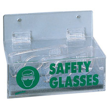 Radnor Clear Acrylic Tray Style Safety Glasses 2011L