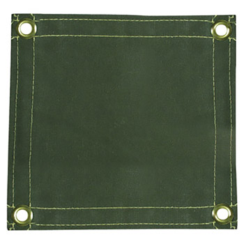 Radnor RAD64052100 6' X 6' 12 Ounce Olive Drab Duck Canvas Replacement Welding Screen