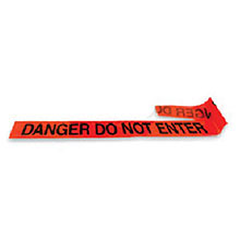 Radnor 3in X 1000 Red 2 Mil Barricade Tape inDanger 64055723