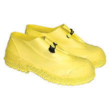 Radnor PVC Boots Small Yellow 4in Slip On Overboots 4in 64055786