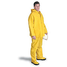 Radnor Rainwear Medium Yellow .32 mm PVC Polyester 64055901