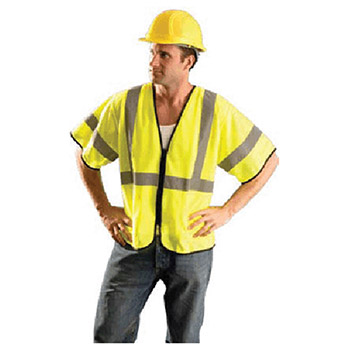 Radnor Small Medium Hi Viz Yellow Polyester 64055982