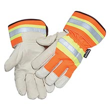 Radnor Orange And Gray Pigskin And Polyester RAD64057033 X-Large