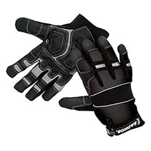Radnor Black Premium Full Finger Sueded Leather RAD64057081 Medium