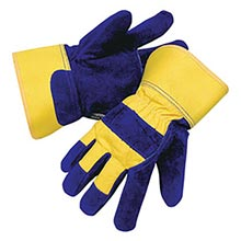 Radnor Blue And Yellow Leather And Canvas RAD64057086 Large