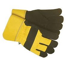 Radnor Black And Yellow Leather And Canvas RAD64057092 Large
