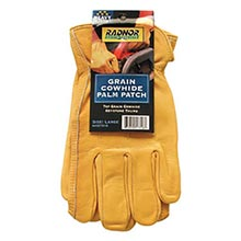 Radnor Premium Grain Double Leather Palm Cowhide RAD64057314 Small