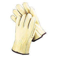 Radnor Grain Cowhide Unlined Drivers Gloves With RAD64057401 Medium