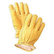 Radnor Yellow Deerskin Thinsulate Lined Cold RAD64057451 Large