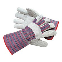 Radnor Economy Grade Split Leather Palm Gloves RAD64057518 Large