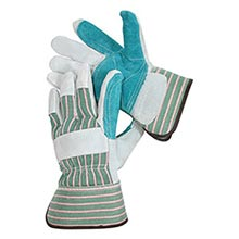 Radnor Shoulder Grade Split Leather Palm Gloves RAD64057528 Small