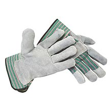 Radnor Select Shoulder Grade Split Leather Palm RAD64057539 Small