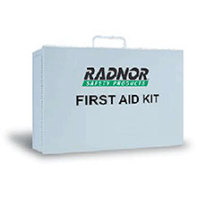 Radnor Empty Two Shelf 10 Person Mobile Utility 64058007