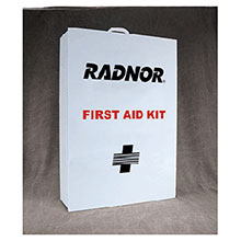 Radnor 25 Person Bulk Sturdy Metal First Aid Cabinet 64058008
