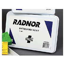 Radnor 16 Person Unitized First Aid Kit In Plastic 64058022