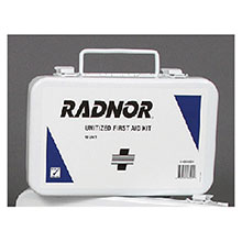 Radnor 10 Person Unitized First Aid Kit In Metal 64058024