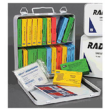 Radnor 24 Person Unitized First Aid Kit In Metal 64058026