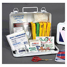 Radnor 6 Person Vehicle First Aid Kit In Metal 64100000