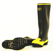 LaCrosse By Renfair Safety Meta 16in Rubber Safety Toe Met Guard Work 00228260