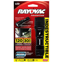 Rayovac Batteries 120 Lumen 3AAA LED Virtually Indestructible DIY3AAA-B