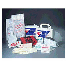 Safetec of America EZ Cleans Plus Biohazard Clean Up Kit 17121
