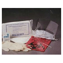 Safetec of America EZ Protection Biohazard Clean Up Kit 17606