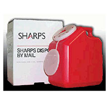 Sharps Compliance Sharps Recovery System 2 Gallon Needle Disposal 12000-012