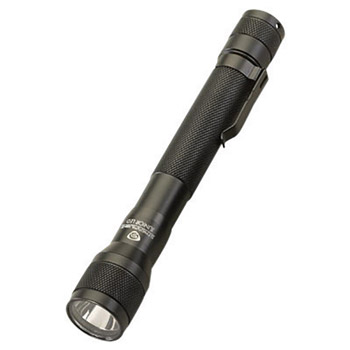 Streamlight SD871500 Black Jr. Flashlight With LED, Black Nylon Flapless Holster And Pocket clip