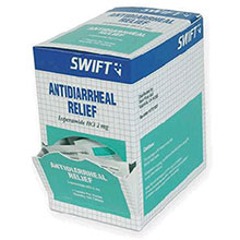 Swift by Honeywell First Aid 1 Pack Anti Diarrheal Relief Tablets 1751001
