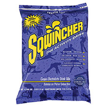 Sqwincher 47.66 Ounce Instant Powder Pack Grape Electrolyte 016406-GR