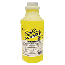 Sqwincher 32 Ounce Liquid Concentrate Lemonade Electrolyte 020223-LA