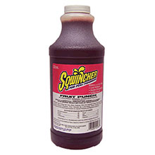 Sqwincher 32 Ounce Liquid Concentrate Fruit Punch 020225-FP