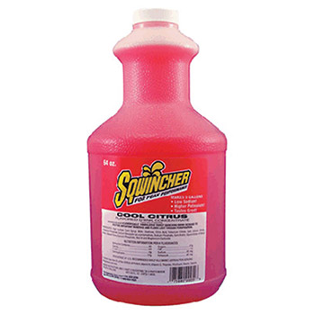 Sqwincher 64 Ounce Liquid Concentrate Cool Citrus 030330-CC