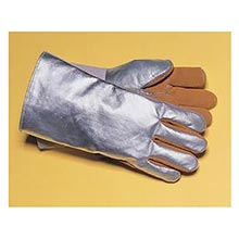 Tillman Silver And Brown Leather And Aluminized TIL820L Large