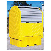 UltraTech International Ultra IBC HardTop 360 Gallon Capacity Without 1162