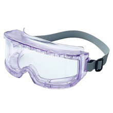 Uvex UVXS345C by Honeywell 9301 Futura Indirect Vent Goggles With Clear Sports Style Wrap-Around Frame, Clear treme Infra-dura Anti-Fog Lens And Neoprene Headband