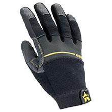Black//Gold//Pearl Radnor TIL1490M John Tillman and Co 1490M TrueFit Super Premium Full Finger Top Grain Goatskin and Spandex Mechanics Gloves with Elastic Cuff Medium