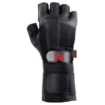 Valeo Mechanics Gloves X Large Black Pro Fingerless Premium Leather V440-WS-XL