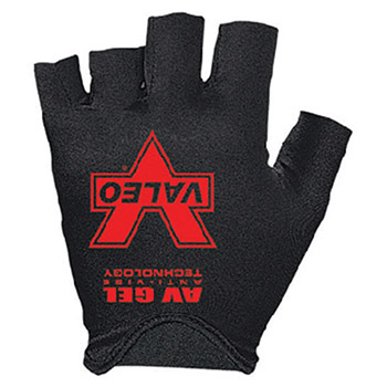 Valeo Anti-Vibration Mechanics Gloves Black Gray Fingerless Sueded Leather V460