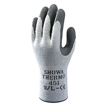 SHOWA Best Glove Gray And Dark Gray Atlas B13451