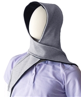 Hoodie Scarf - Reversible hat and a scarf in one, warm Polartec and knit - Adaptive Wheelchair Clothing