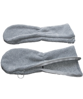 Long Cuff Mittens - Polartec Fleece - Keep your hands warm - Adaptive Wheelchair Clothing