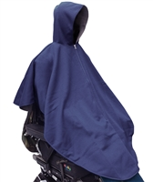 Spring N Fall Cape - Like wearing a lightweight jacket - Adaptive Wheelchair Clothing