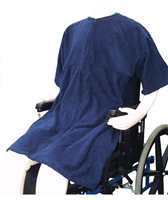 "Terry Lounger ""Sit and Zip"" - Adaptive Wheelchair Clothing"