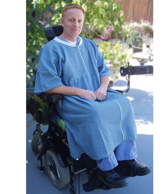 Denim or Twill Lounger - Easy to put on - Adaptive Wheelchair Clothing